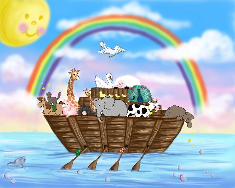 L arca di noè cartone animato cristiani evangelici