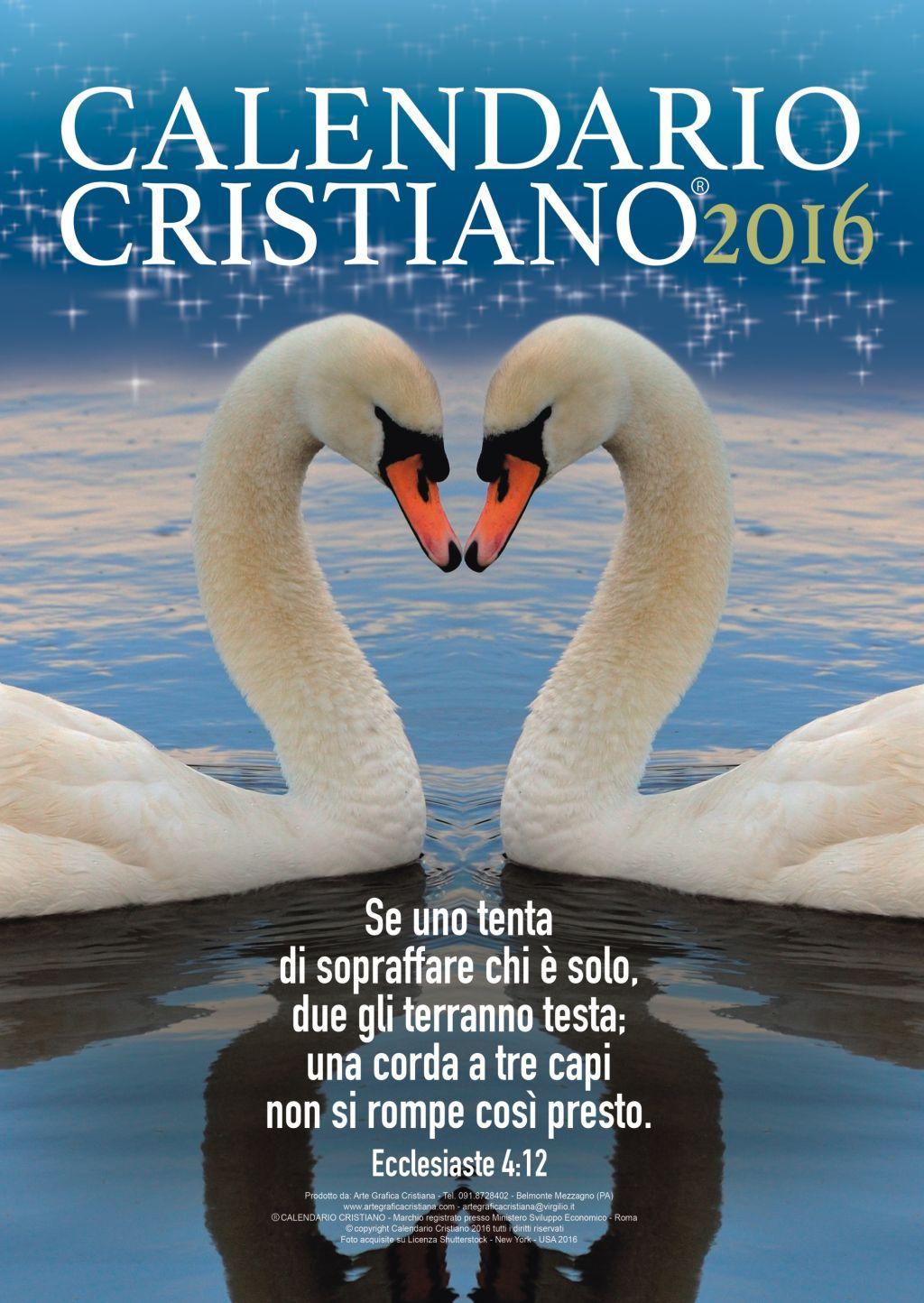 Favoloso Calendari cristiani evangelici | CRISTIANI EVANGELICI LD74