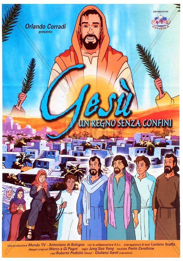Gesù un regno senza confini cartone animato