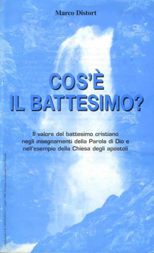 Super Il battesimo per i cristiani evangelici | CRISTIANI EVANGELICI BT93