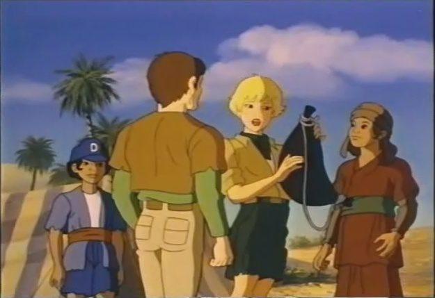 Le grandi avventure della bibbia cartoni animati