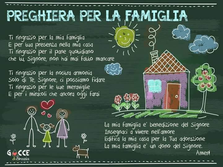 Preghiera per la famiglia | CRISTIANI EVANGELICI