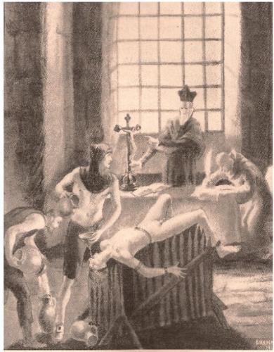 torture sul cavalletto